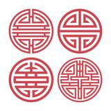 Korean traditional design elements - 194349142