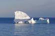Contrasting LIght on an Ocean Iceberg