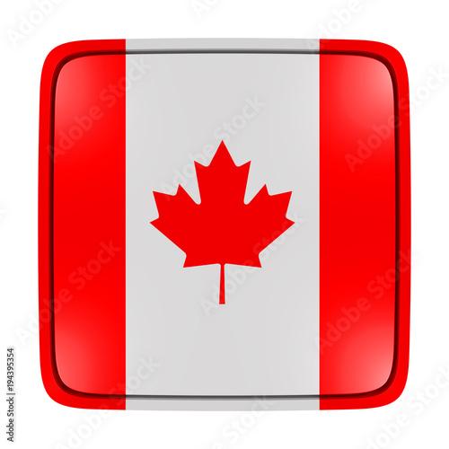 Foto op Plexiglas Canada Canada flag icon