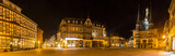 historic wernigerode at night high definition panorama