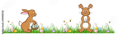 Happy Easter Banner  - 194418728