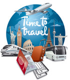 world travel and journey