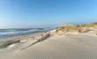 plage d'Hourtin sur  le littoral de Gironde