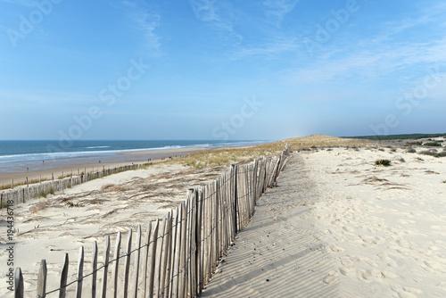 Dunes et littoral de Lacanau