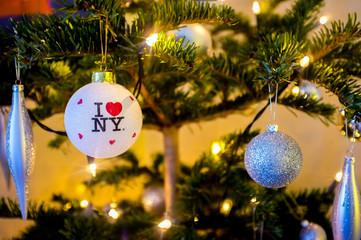 New York City Chrismas Tree Decoration