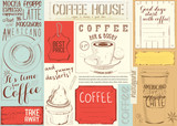 Coffee Menu Placemat - 194460149