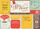 Coffee Menu Placemat - 194460368