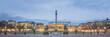 Leinwanddruck Bild - Panorama Stuttgart - Germany