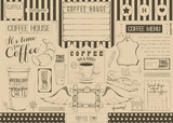 Coffee Menu Placemat - 194464196