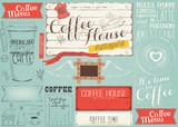 Coffee Menu Placemat - 194464376
