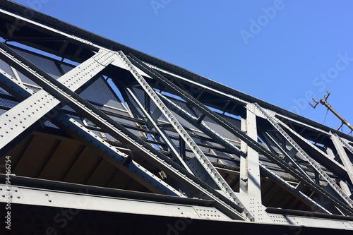 Fotobehang Spoorlijn Ponte ferroviario