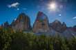 italien dolomites, south tyrol and italien alps, beautiful mountain scenery, tre cime di lavaredo