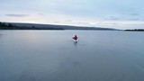 kayaking on peaceful river in Iceland - 194467121