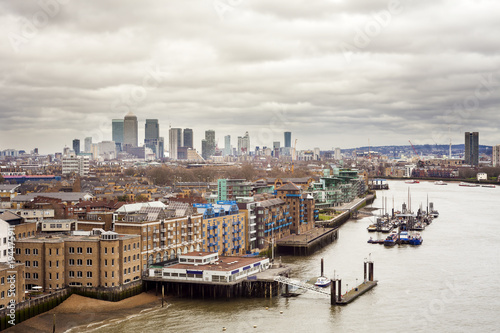 London cityscape with Thames river. United Kingdom