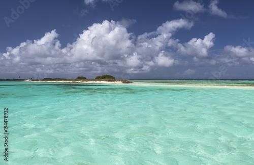 Foto op Canvas Tropical strand Los Roques archipelago, Venezuela