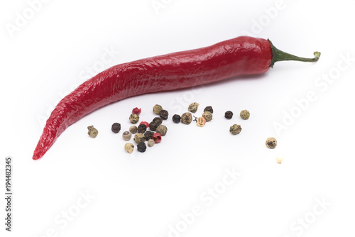 Tuinposter Hot chili peppers pepper
