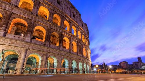 Fotobehang Rome Colloseum