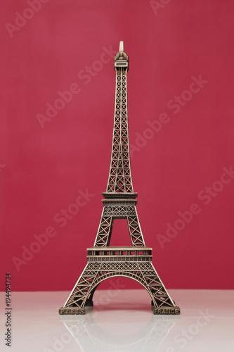Fotobehang Eiffeltoren bibelot tour Eiffel décorative décoration