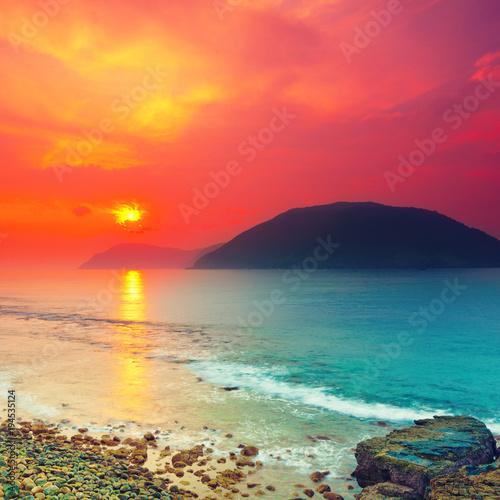 Plexiglas Oranje eclat Sunrise