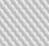 Girlish Fish Scale Pattern Wall Sticker