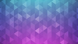 Abstract background, white transparent triangle shape on blue and pink gradient - 194547915
