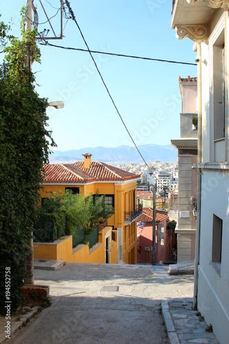 Foto op Aluminium Athene City view of Athens, Attica, Greece