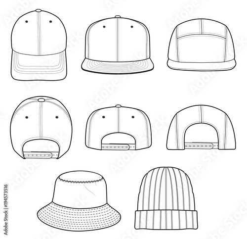 hat beanie cap vector design illustration template buy photos ap