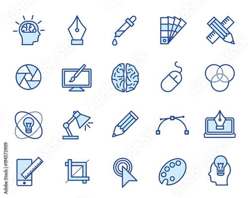 Design Vector Icon Set - 194573909