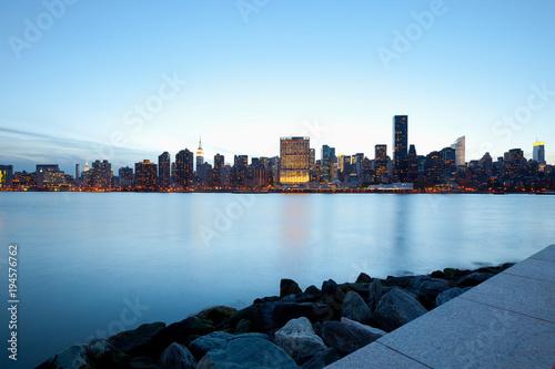 Foto op Aluminium New York Skyline of buildings at Midtown Manhattan, New York City, NY, USA