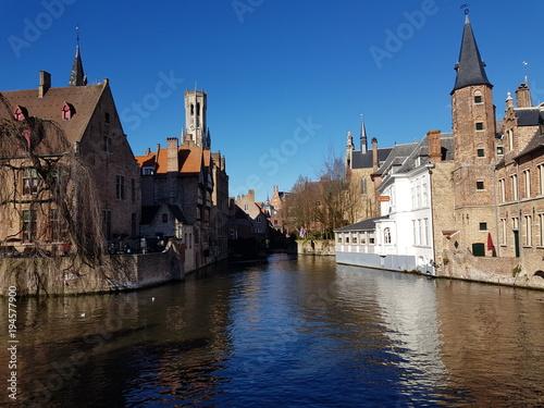 Deurstickers Brugge Bruges
