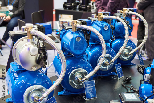 Surface pumps for water supply in store © Sergey Ryzhov