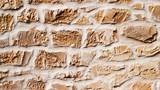 modèle d'enduit de fausses pierres de façade - 194582166