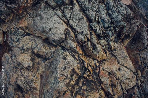 Foto op Canvas Stenen Details of sand stone texture