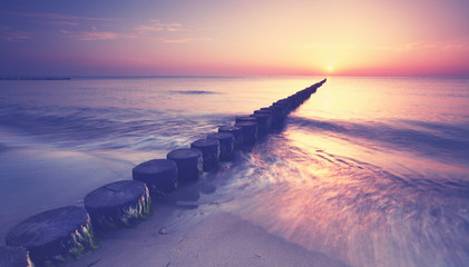 Ostseetraum zum Sonnenuntergang