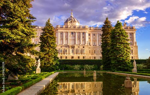 Foto op Canvas Madrid Royal Palace of Madrid