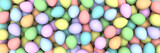 Pile of birght and colorful Easter Eggs - 3d render - 194663920
