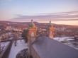 Antigonish Cathedral in Winter. Nova Scotia, Canada