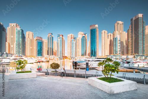 Staande foto Dubai Stunning Dubai cityscape
