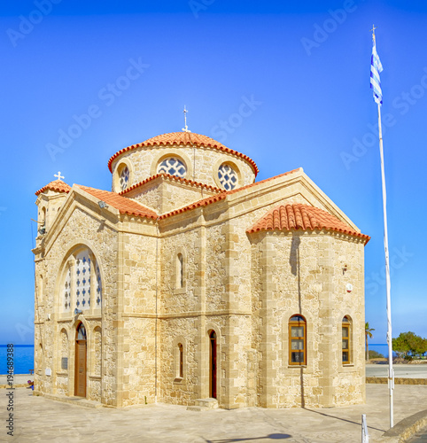 Fotobehang Cyprus Church of St. George in Paphos , Cyprus