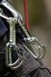 alpinisme attache mousquetons attache corde grimper - 194694995