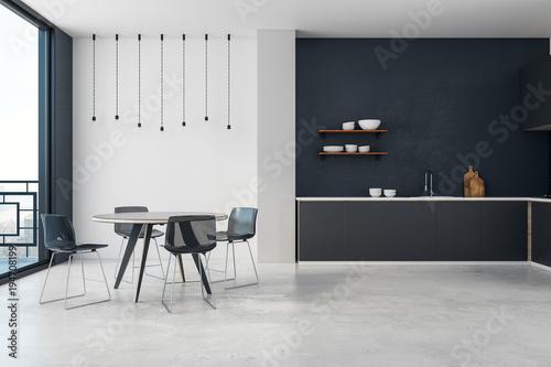 Foto op Aluminium Hoogte schaal Stylish kitchen interior