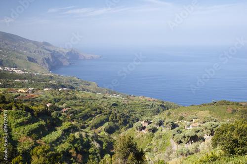 Fotobehang Canarische Eilanden La Palma Coastal Landscape