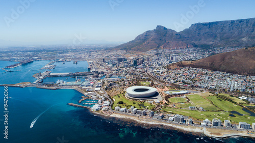 Cape Town from a bird's eye view - 194726366