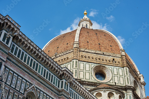 Aluminium Florence The Cathedral of Santa Maria del Fiori, Florence, Italy.