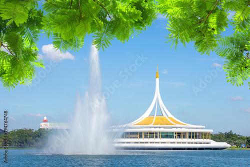 Bangkok Suanluang rama ix public park in Bangkok .