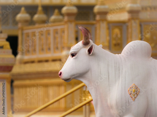 Poster The Cow Angel Statue in The  Himmapan Paradise on The Royal Crematorium