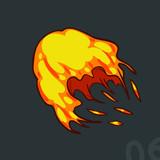 illustrator 2d fire