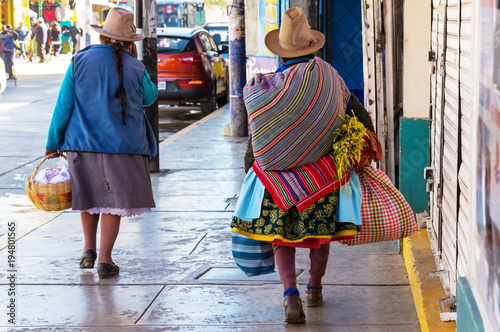 Aluminium Galyna A. Peruvian people