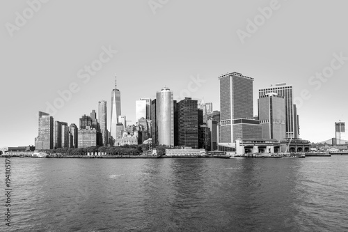 New York skyline of New York