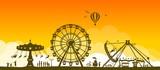 Silhouette Volksfest - 194809778